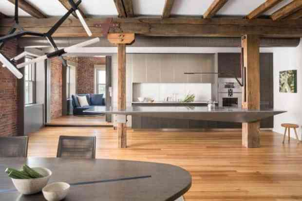 classic, industrial & edgy makes for a high style loft   @meccinteriors   design bites