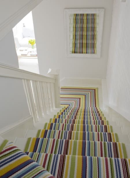 vibrant carpet runners can add life to your interiors | @meccinteriors | design bites