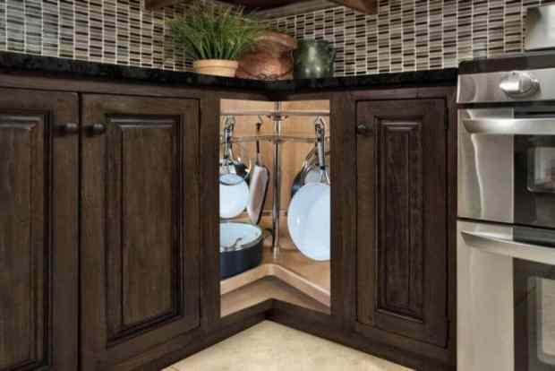 change the way you use blind corner cabinets | @meccinteriors | design bites