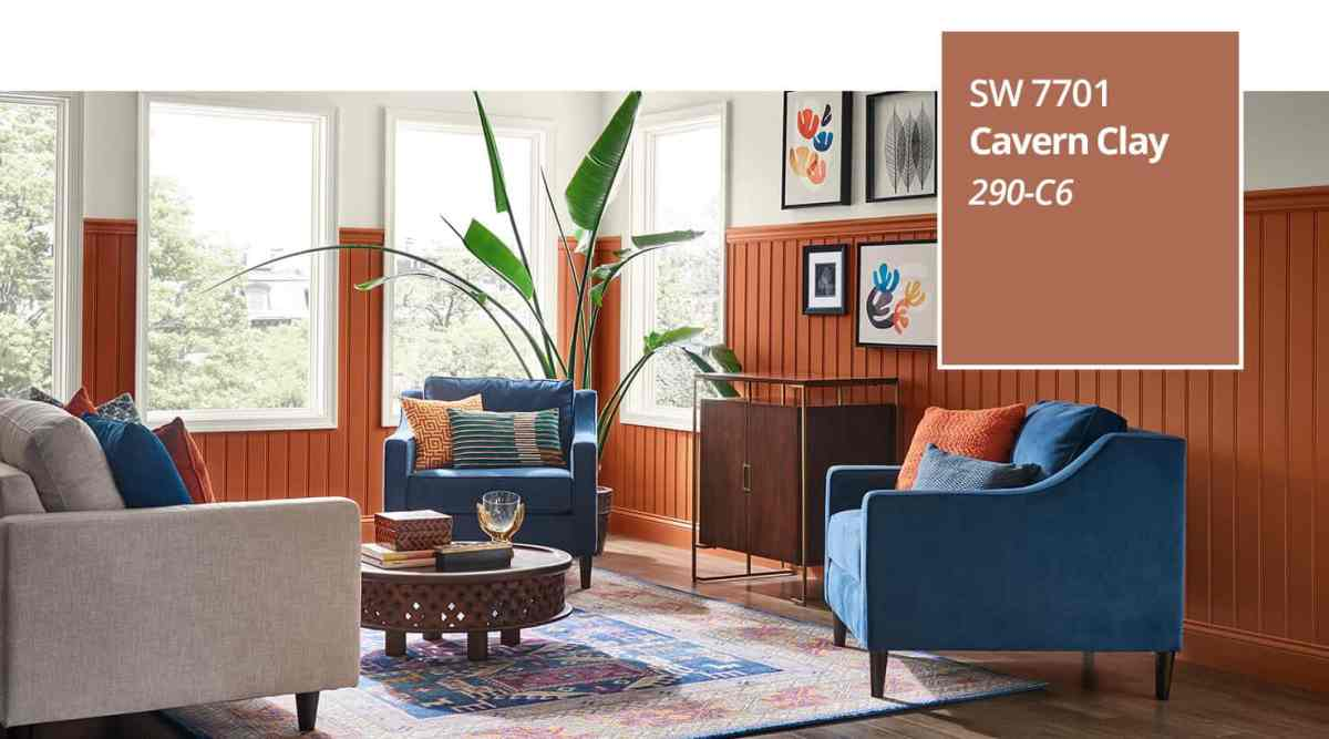 introducing cavern clay, sherwin-williams 2019 colour of the year