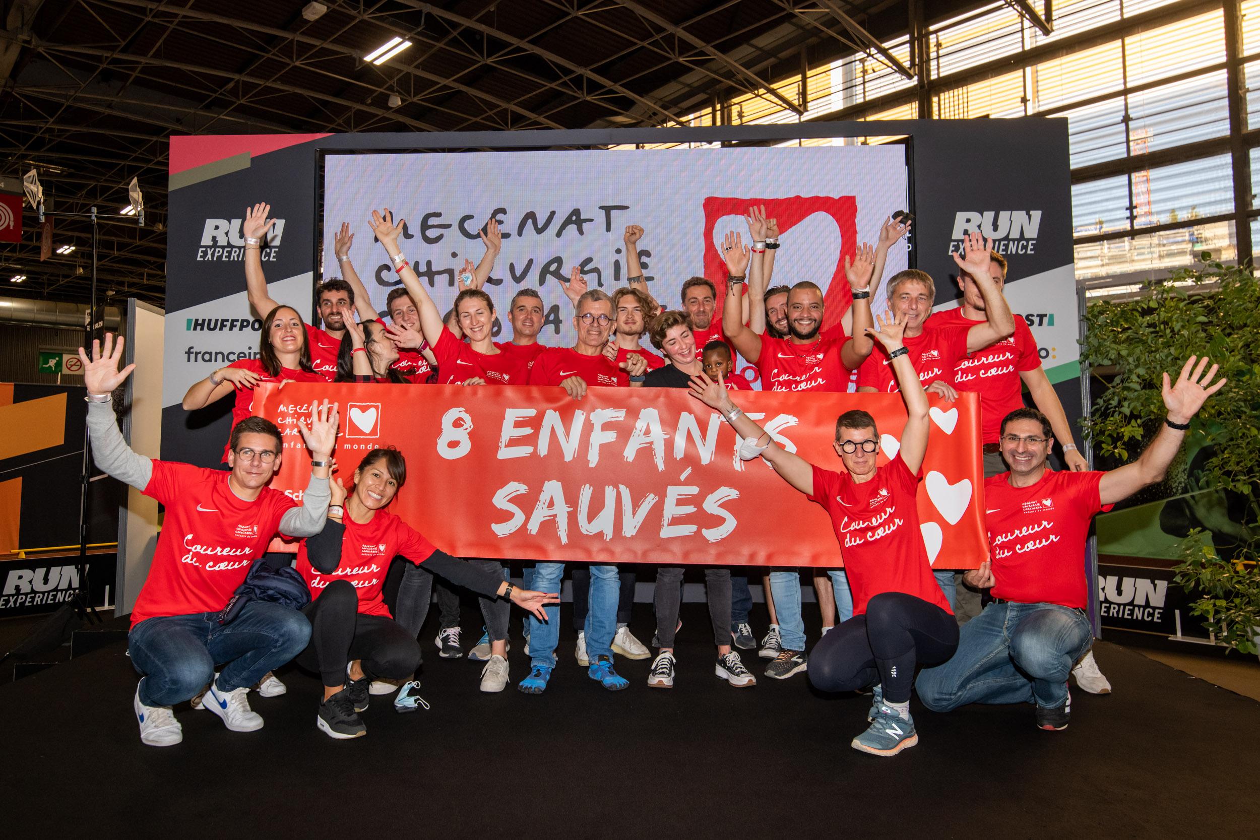 Coureurs du Coeur aux Marathon de Paris