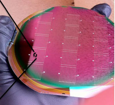 Nanoelectric wafer