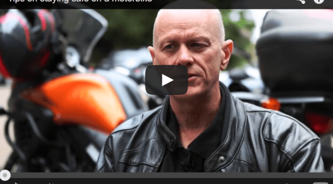 Tips on staying safe on a motorbike