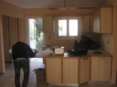Ανακαίνιση κουζίνας στο Ρέντη