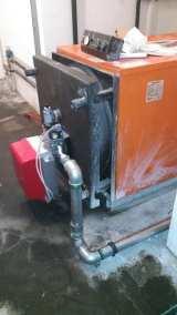 Σύνδεση διβάθμιου καυστήρα αερίου