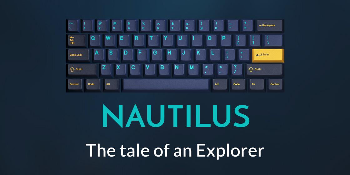 【悲報】GMK Nautilusの色が