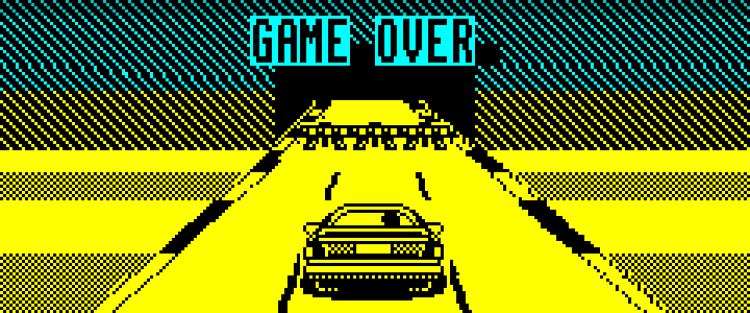 Chase HQ - Game over