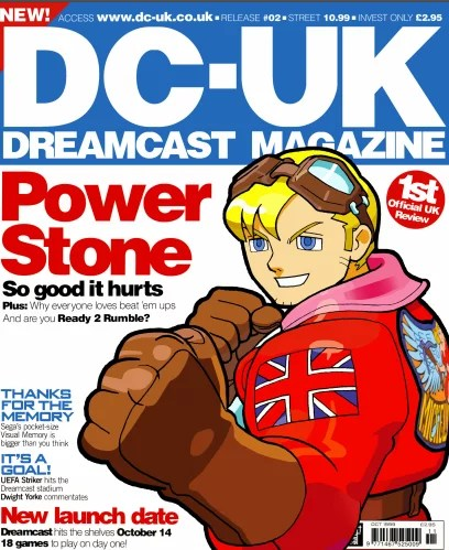 Dreamcast: The cover of DC-UK issue 2