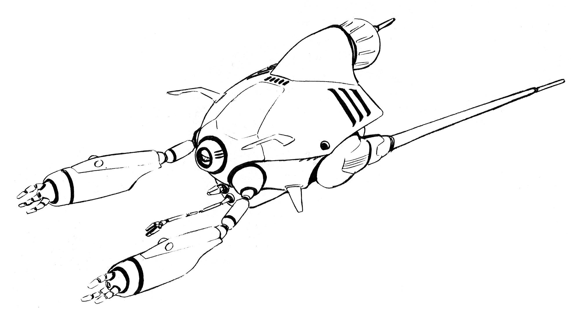 Gimi Kur Trama Salvage And Repair Spacecraft