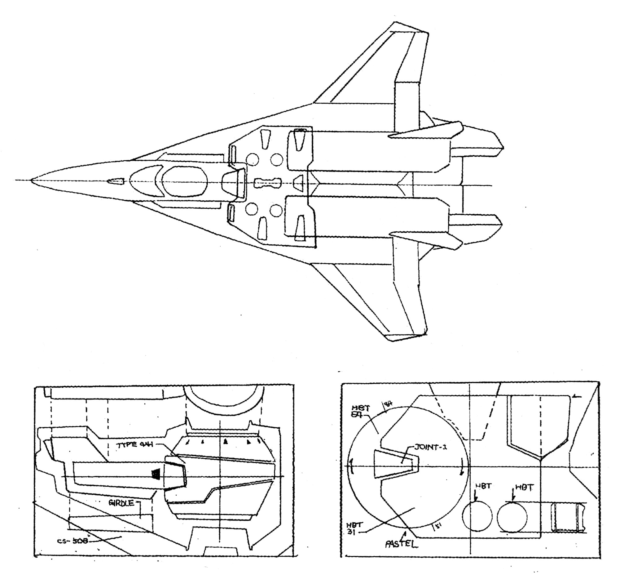 Maxwell Dynamics Vf A 6 Multi Role Veritech Fighter