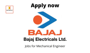 Bajaj Electricals Limited Hiring | Manager – IP Specialist | BTech/BE in Electrical, Electronics/ Telecommunication/ Mechanical |