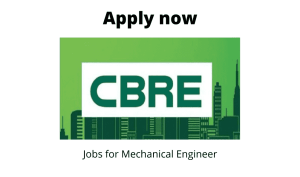 CBRE Hiring | Manager Estate | BE/BTech in Electrical/ Mechanical |