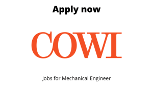 COWI is hiring | Chief Designer | Diploma in Mechanical Engineering |