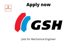 GSH India Hiring | Fitter, Turner, Machinist | ITI/ Diploma in Mechanical Engineering |