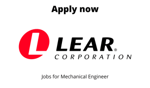 Lear Automotive India Hiring | Buyer/ Senior Buyer | Bachelor degree in Mechanical/ Industrial Engineering |