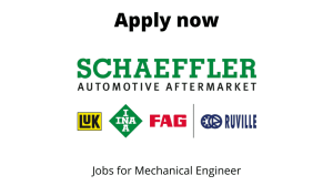 Schaeffler India is Hiring | System Engineer (Design) | BTech/ BE in Mechanical |
