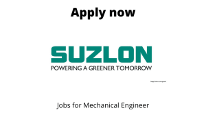 Suzlon Energy is Hiring | Mechanical Engineer (MBD) | Diploma/ BE/ BTech in Mechanical |