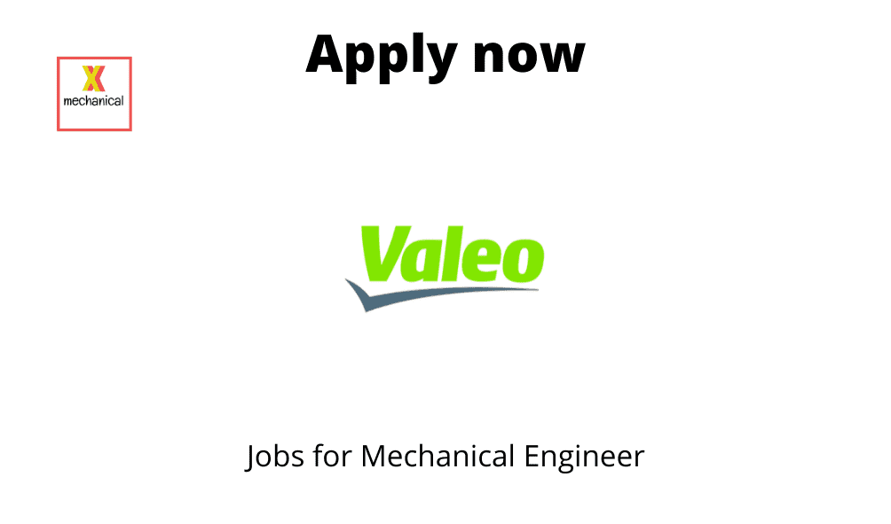 Valeo Is Hiring Cad Engineer Be Btech Me Mtech In Mechanical Mechanical Jobs And Careers