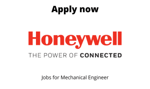 Honeywell is Hiring | Mech Design Engineer II | Bachelors/Masters Degree in Mechanical Engineering |