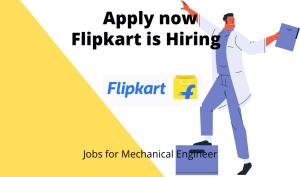 Flipkart is Hiring | Senior Manager- Mechanical Engineer |