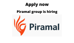 Piramal Healthcare is hiring | Research Associate | Any graduate |