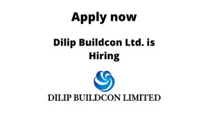 Dilip Buildcon Ltd. is Hiring | Asst Manager/ Engineer/ Sr. Engineer (Workshop) – Mechanical | Diploma/ BE/ BTech in Mechanical |