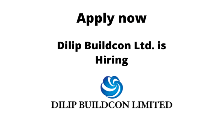 Dilip-Buildcon-Ltd.-is-hiring