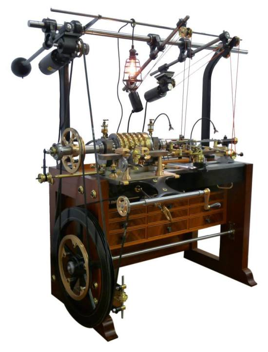 The MADE ornamental rose engine