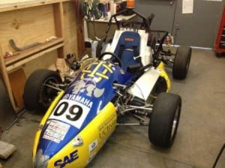 UCI Electric racecar