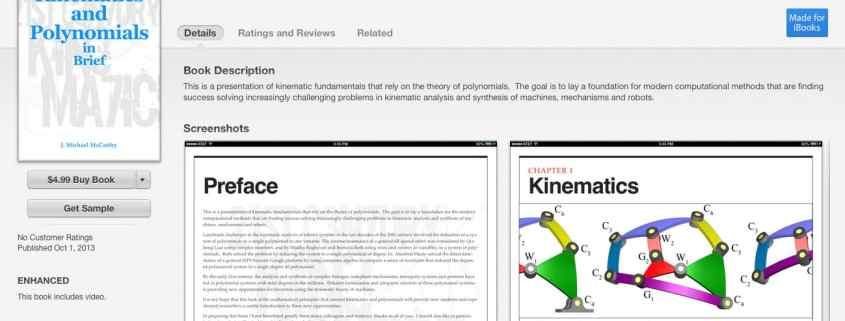 Kinematics and Polynomials
