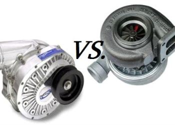 Differences between supercharger and turbocharger.