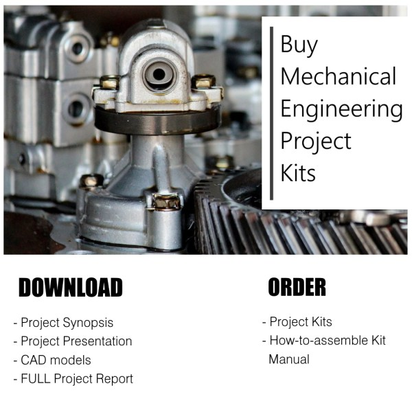 list of projects for mechanical engineering students