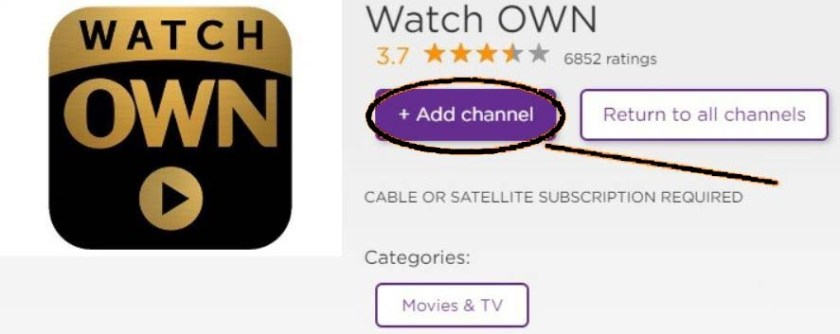 How to activate Watch OWN TV on Roku at start.watchown.tv/activate