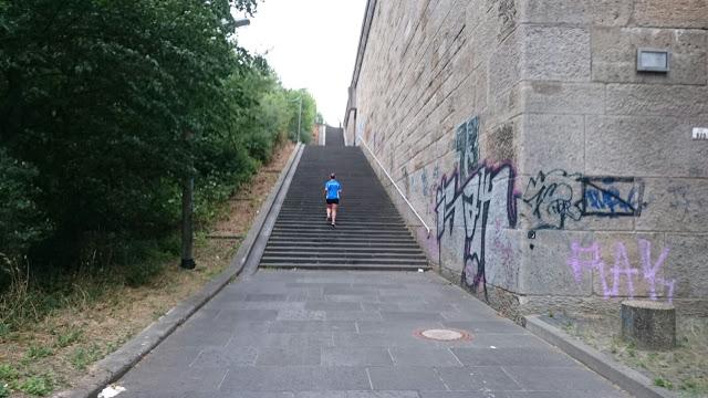 Laufgedanken: Meine Treppe des Grauens