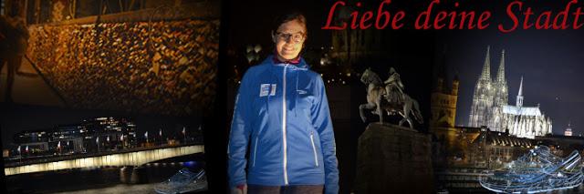 Laufgedanken: Köln bei Nacht