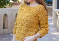 3 Categories of Crochet Long Sleeve Top Pattern That You Must Try Crochet Pattern The Ronia Top Crochet Pullover Long Sleeve Etsy
