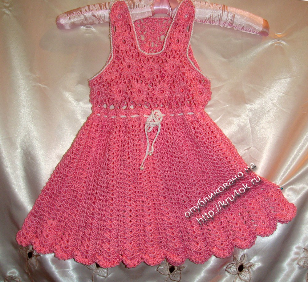 3 Cute Crochet Childrens Dress Patterns Vintage Crochet Ba Dress Patterns
