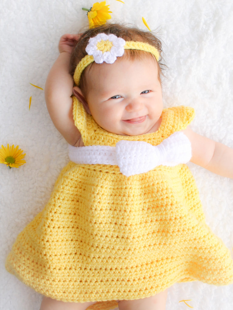 3 Cute Crochet Childrens Dress Patterns Vintage Free Crochet Childrens Dress Patterns