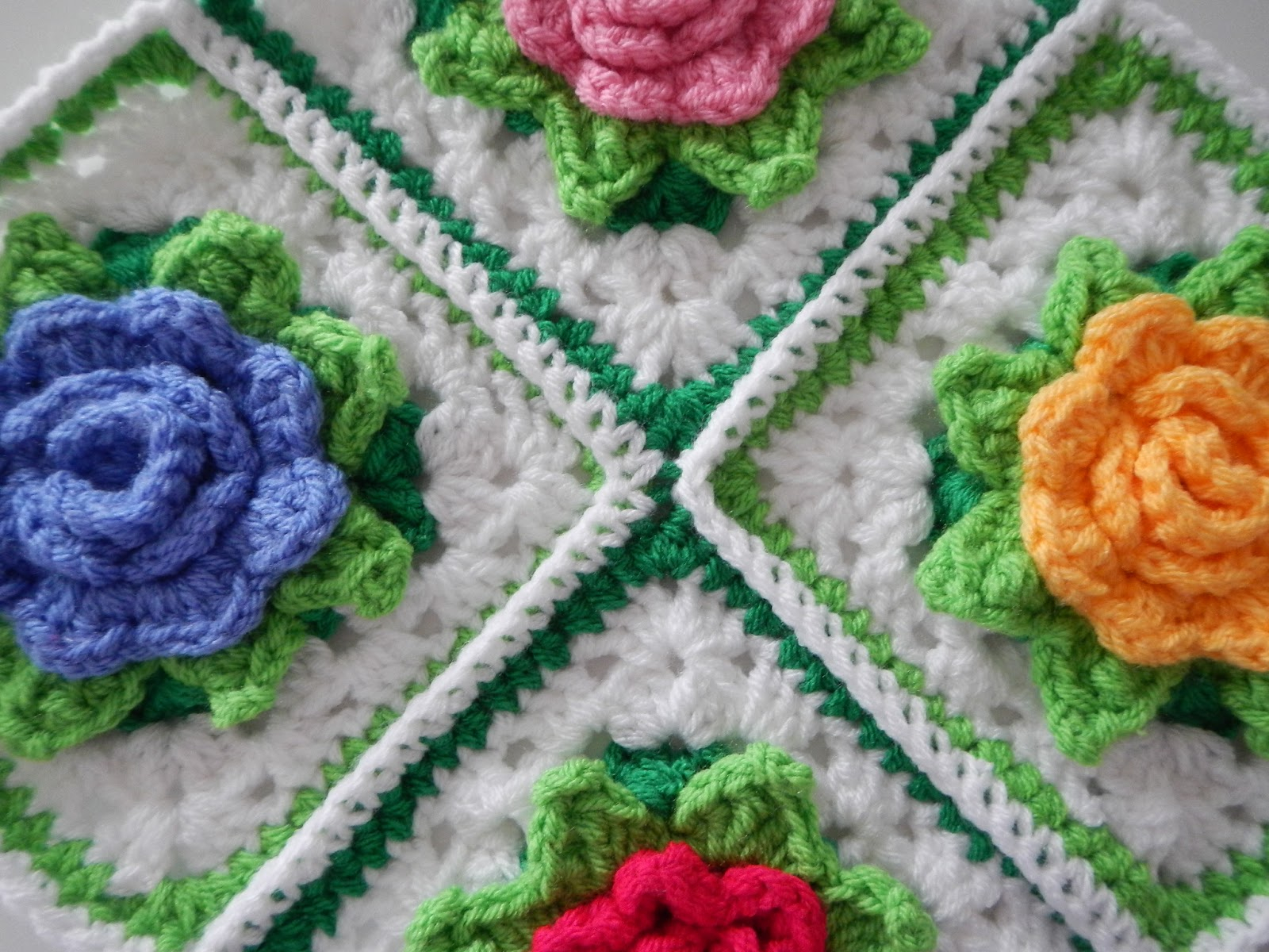 3 Magnificent Ideas of the Free Crochet Rose Afghan Pattern Many Roses Afghan To Crochet Free Patterns And Ideas Free Crochet