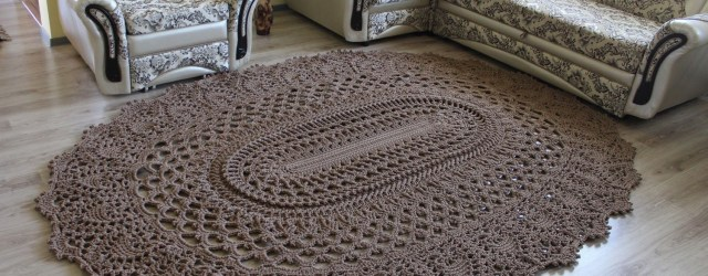 3 Motifs of Easy Crochet Oval Rug Pattern Free Crochet Pattern For A Large Oval Rug Crochet Kingdom