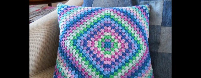3 Recommended Designs of Crochet Patterns for Pillow Covers Crochet Cushion Cover Youtube