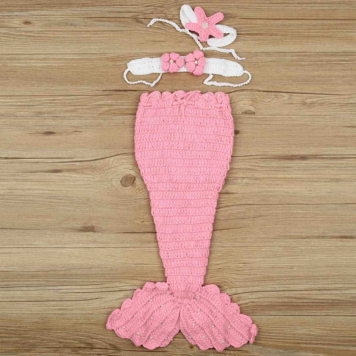 Amazing Crochet Mermaid Pattern for Baby's Mermaid Tail Detail Feedback Questions About Infant Newborn Ba Mermaid Fishtail