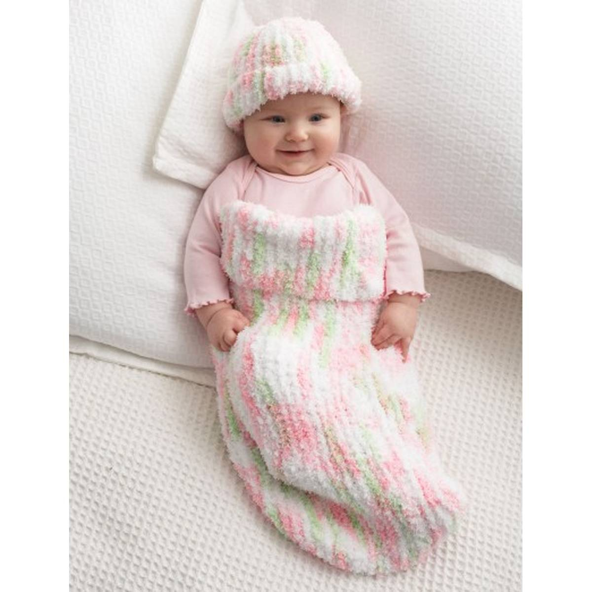Crochet Cocoon Patterns For Newborns Free Pattern Bernat Knit Ba Cocoon Hobcraft