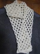 Crochet Muffler Pattern Crochet An Easy Solomons Knot Scarf