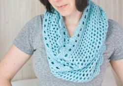 Crochet Muffler Pattern  How To Crochet And Infinity Scarf