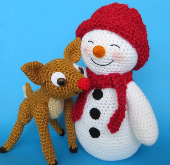 Crochet Pattern For Snowman Crochet Snowman Pattern Knitting Bordado
