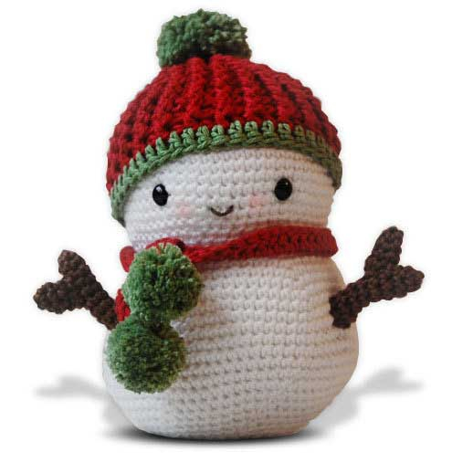 Crochet Pattern For Snowman Frosty The Snowman And Christmas Tree Amigurumi Pattern
