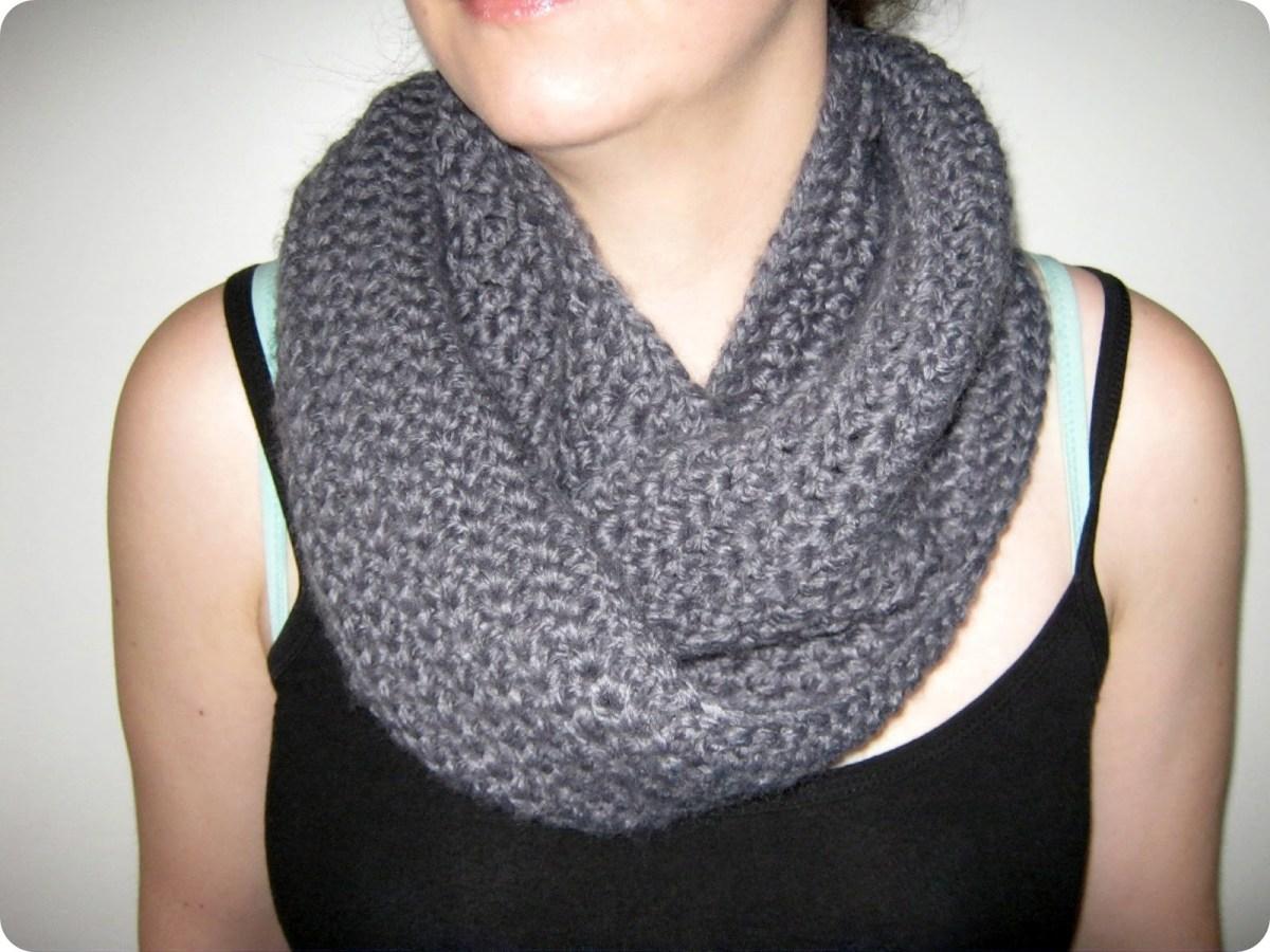 Easy Infinity Scarf Crochet Pattern  55 Crochet Infinity Scarves For Beginners Lacy Infinity Scarf
