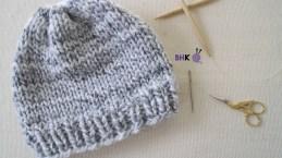 Free Crochet Newborn Baby Hat Patterns Newborn Ba Boy Knit Hat Patterns Round