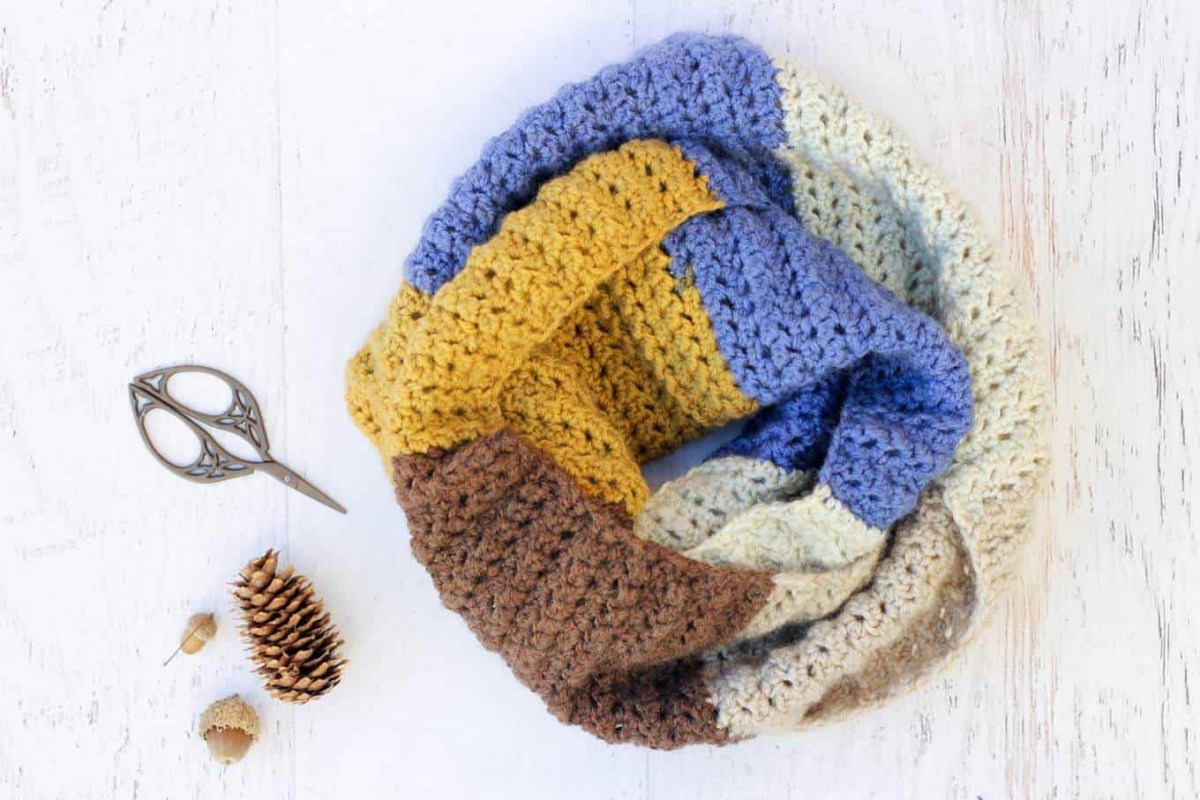 Free Infinity Scarf Crochet Pattern  Free Infinity Scarf Crochet Patterns To Keep Your Neck Warm And Snug